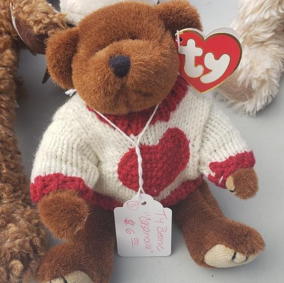 """Ty Other - Ty Teddy Bear """"Casanova"""""""